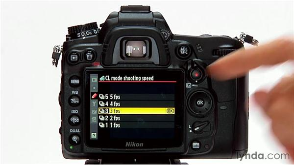 cl mode shooting speed rh lynda com Nikon D800 Manual Nikon D800 Manual