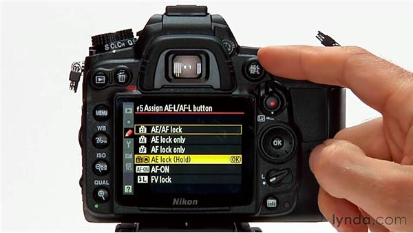 The Assign AE-L/AF-L button: Shooting with the Nikon D7000