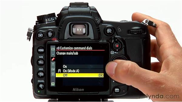 The customized command dial: Shooting with the Nikon D7000