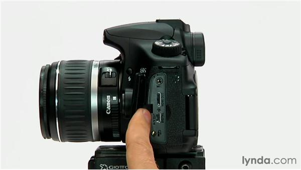 Basic camera anatomy: Shooting with the Canon 60D