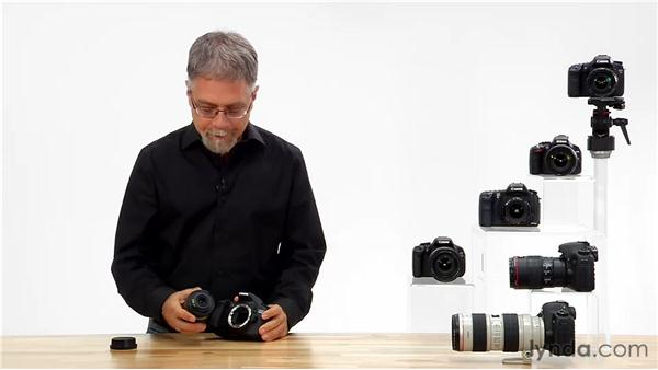 Attaching a lens to your camera: Shooting with the Canon 60D