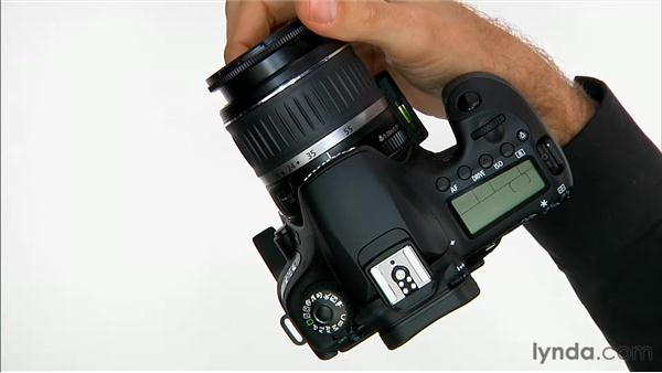 Lens controls: Shooting with the Canon 60D