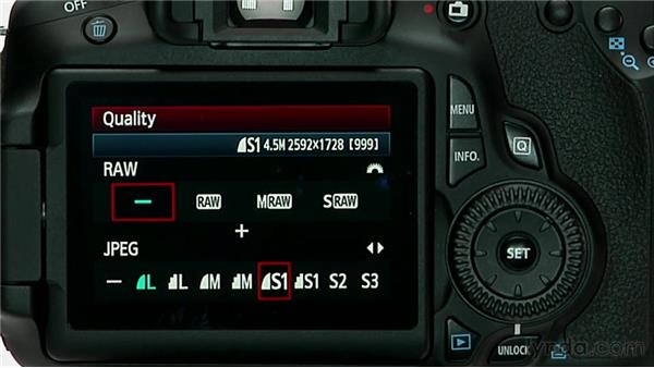 Image format and size: Shooting with the Canon 60D
