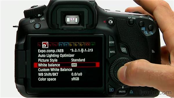 Adjusting white balance automatically: Shooting with the Canon 60D