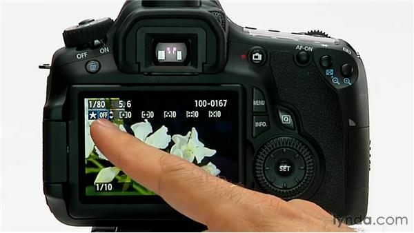 Rating images: Shooting with the Canon 60D