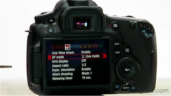Focusing in Live View: Shooting with the Canon 60D