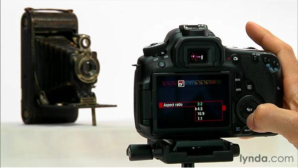 Aspect ratio: Shooting with the Canon 60D