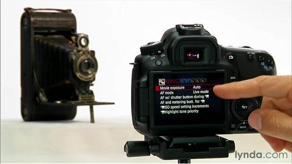 Exposure control: Shooting with the Canon 60D