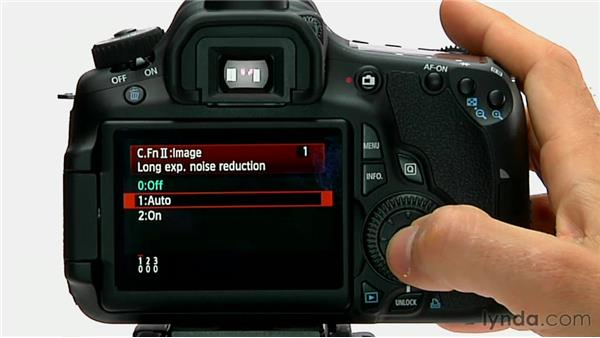 Long-exposure noise reduction: Shooting with the Canon 60D