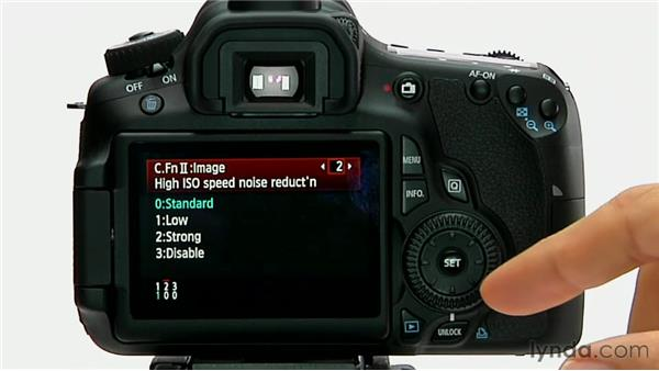 High ISO speed noise reduction: Shooting with the Canon 60D