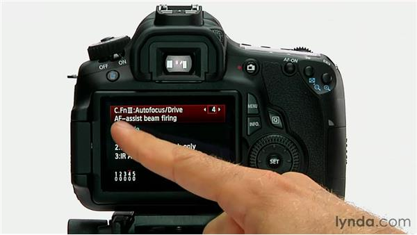 AF-assist beam firing: Shooting with the Canon 60D