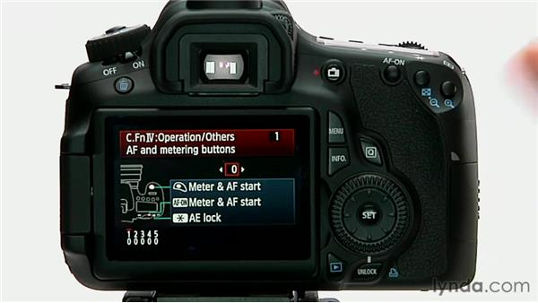 The AF and Metering buttons: Shooting with the Canon 60D