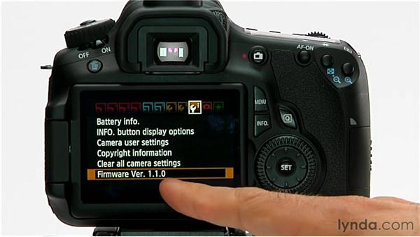 Firmware updates: Shooting with the Canon 60D