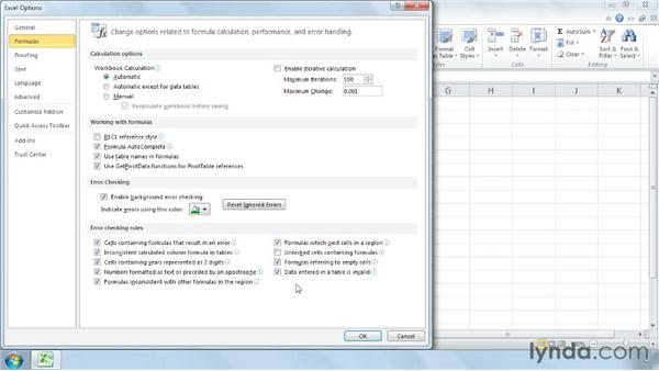 Error-checking options with Convert to Number: Cleaning Up Your Excel 2010 Data