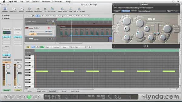 Composing with the ES E: Virtual Instruments in Logic Pro