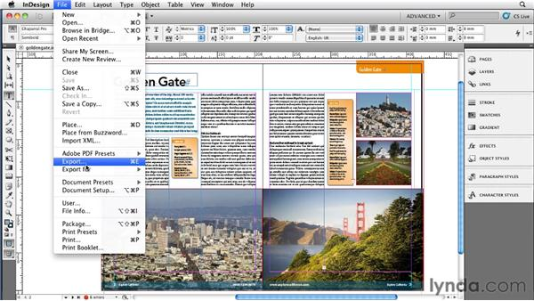 009 Saving down for backward compatibility with INX and IDML: InDesign Secrets