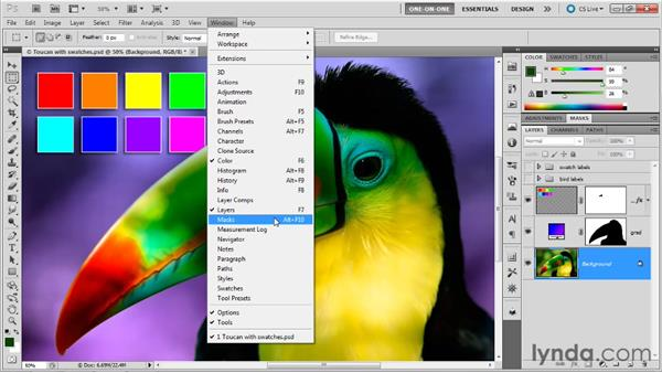 The Masks and Channels panels: Photoshop Masking and Compositing: Fundamentals