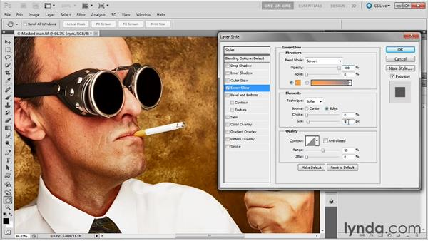 Putting a mask into play: Photoshop Masking and Compositing: Fundamentals