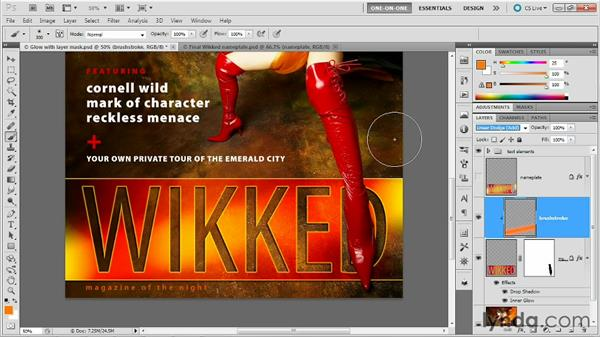 Introducing clipping masks: Photoshop Masking and Compositing: Fundamentals