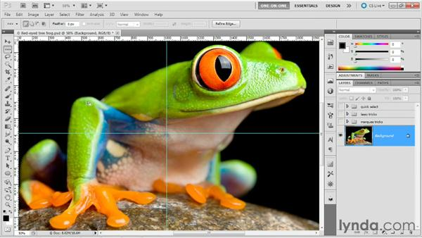 The single-pixel tools (plus tool tricks): Photoshop Masking and Compositing: Fundamentals
