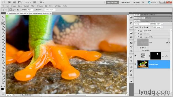 The lasso tools: Photoshop Masking and Compositing: Fundamentals
