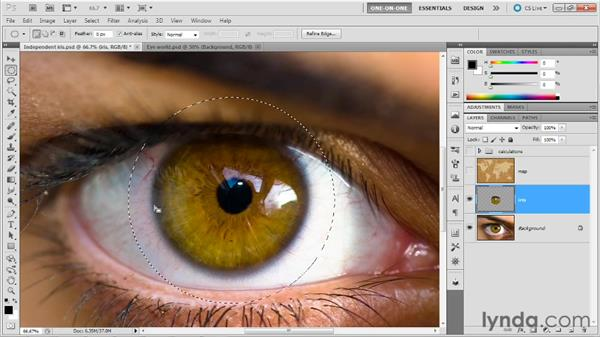 Selections and transparency masks: Photoshop Masking and Compositing: Fundamentals