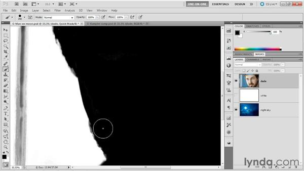 Starting with an accurate selection: Photoshop Masking and Compositing: Fundamentals