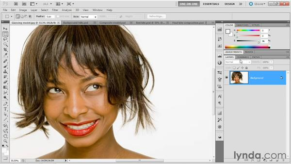 Choosing the ideal base channel: Photoshop Masking and Compositing: Fundamentals