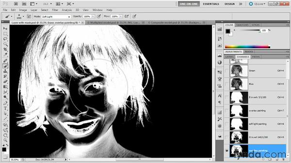 Creating a more aggressive mask: Photoshop Masking and Compositing: Fundamentals