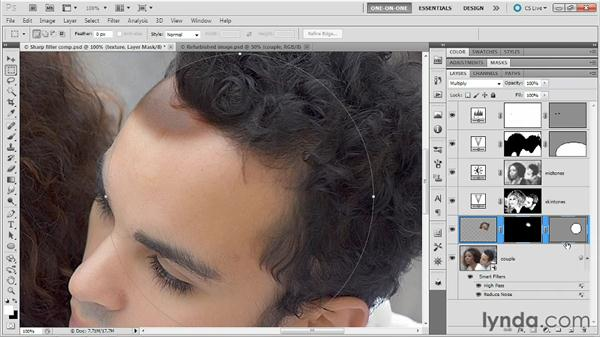 Recreating missing details: Photoshop Masking and Compositing: Fundamentals