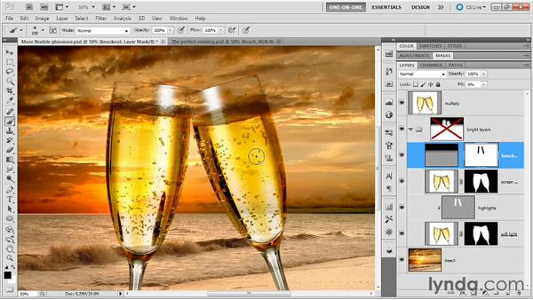 Clipping and compositing tricks: Photoshop Masking and Compositing: Fundamentals