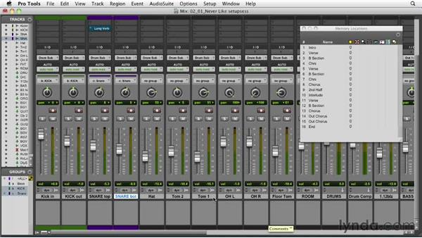 Setting up your session: Audio Mixing Bootcamp