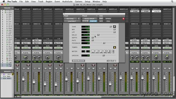 Setting up your effects: Audio Mixing Bootcamp
