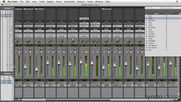 Developing the groove: Audio Mixing Bootcamp