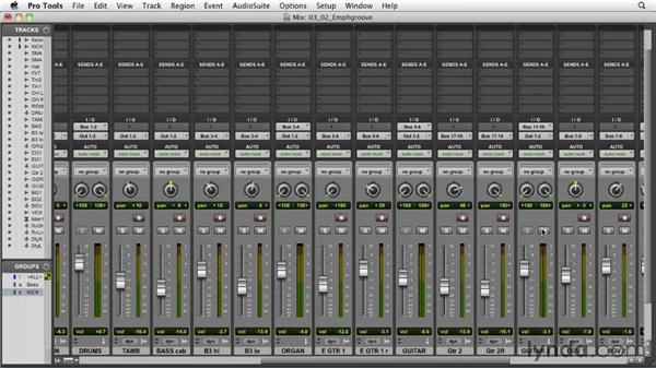 Emphasizing the most important elements: Audio Mixing Bootcamp