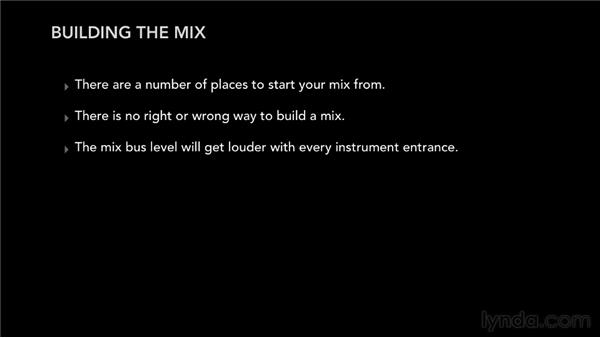 Learning the principles of building a mix: Audio Mixing Bootcamp