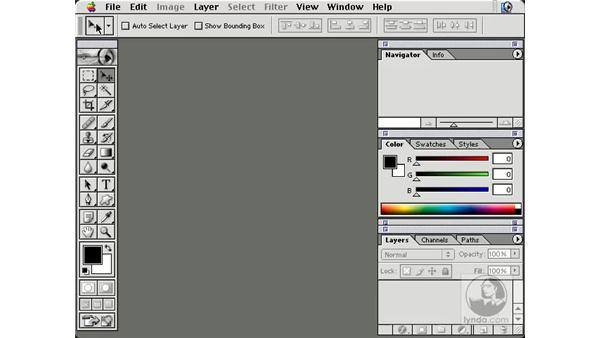 options at bottom: New in Photoshop 7