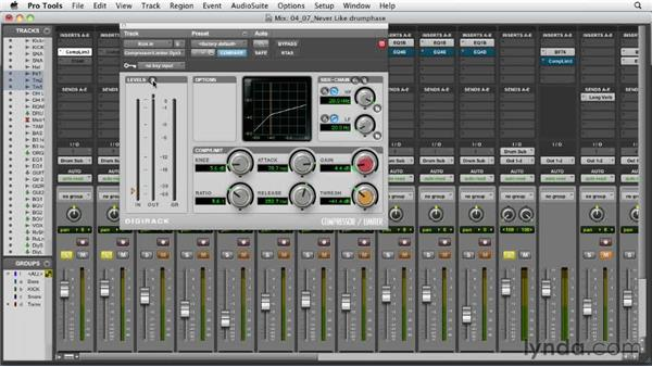 Checking the drum phase: Audio Mixing Bootcamp