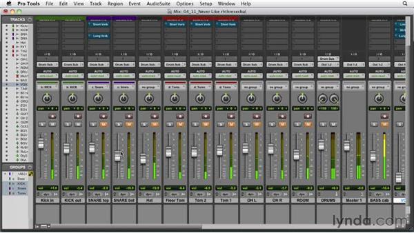 Balancing the rhythm section: Audio Mixing Bootcamp