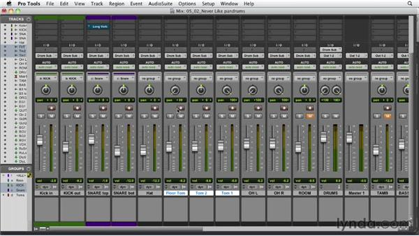 Panning the drums: Audio Mixing Bootcamp