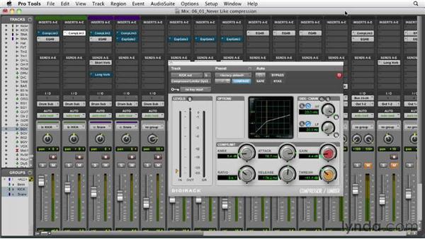 Understanding compressor parameters: Audio Mixing Bootcamp