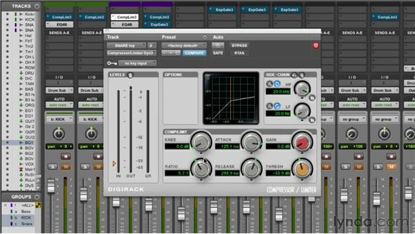Compressing the drums: Audio Mixing Bootcamp