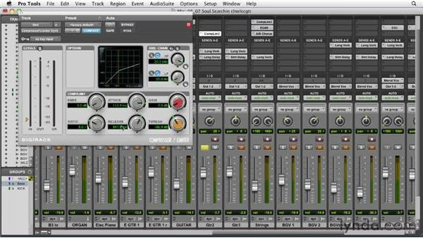 Compressing the clean electric guitars: Audio Mixing Bootcamp