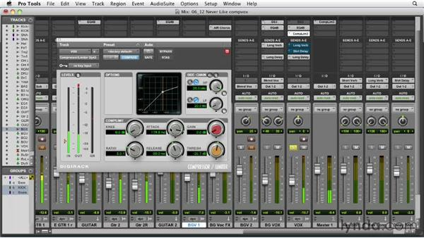 Compressing the vocals: Audio Mixing Bootcamp