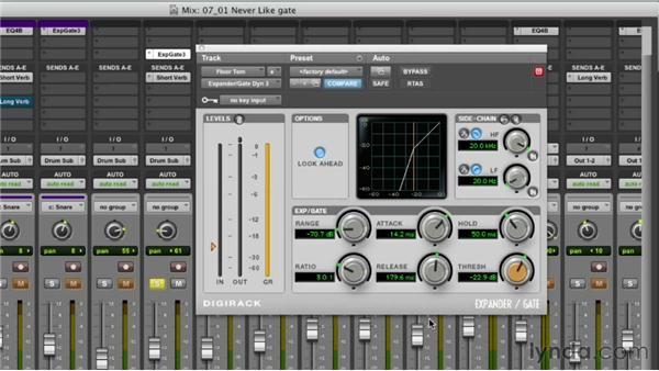 Learning noise gate basics: Audio Mixing Bootcamp