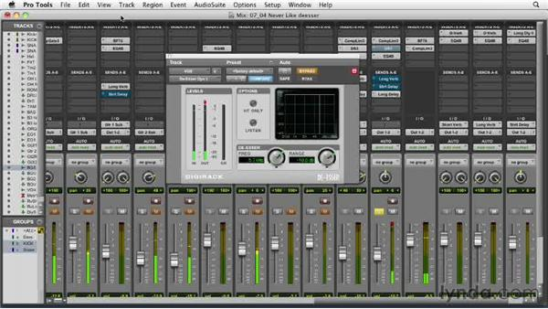 Learning de-esser basics: Audio Mixing Bootcamp