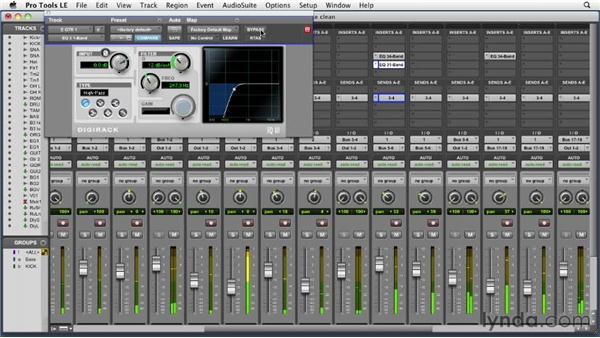 Using the magic high-pass filter: Audio Mixing Bootcamp