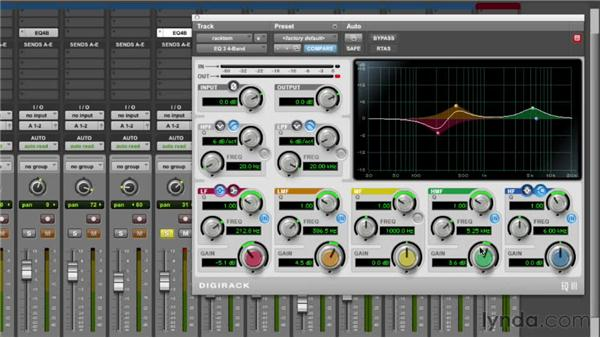 Equalizing the rack toms: Audio Mixing Bootcamp
