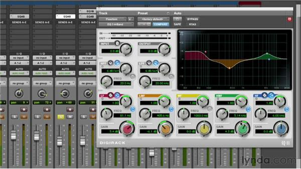 Equalizing the floor tom: Audio Mixing Bootcamp