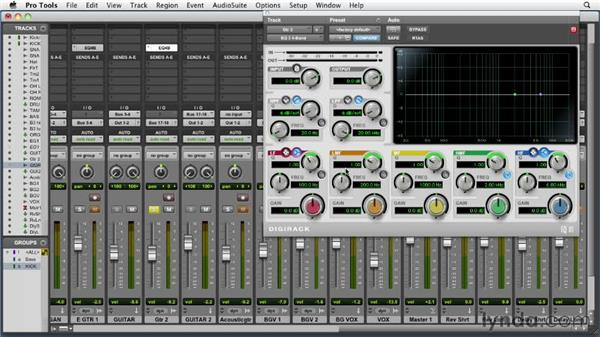 Equalizing the electric guitar: Audio Mixing Bootcamp